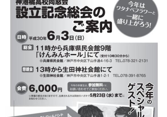 同窓会設立記念号発行